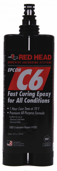 Red Head C6 Fast Curing Epoxy